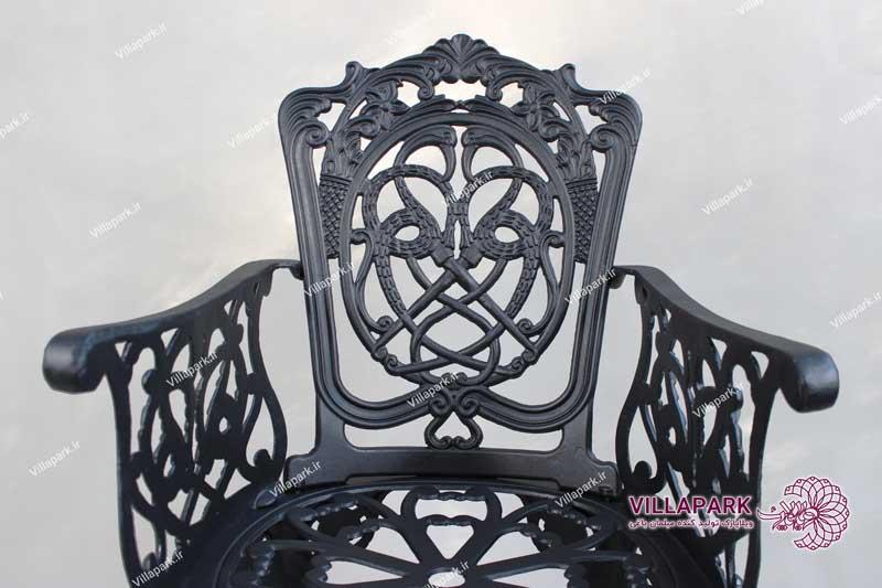مبلمان باغی فلزی آلمینیومی