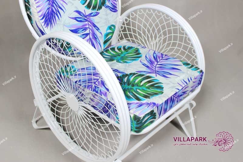 صندلی فضای باز مدل گلبرگ